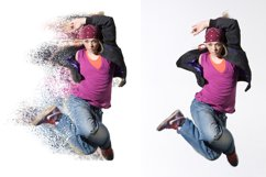 Splatter Dispersion Photoshop Action Product Image 6