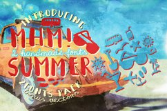 Mhm! Summer 2 Font + Vector Bonus Product Image 2