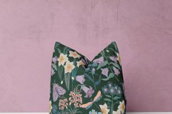 Patterns with wildflowers, cat, moth, dragonfly Product Image 2
