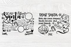 Christmas SVG Bundle, Dear Santa Tray Svg, 1st Christmas Svg Product Image 6