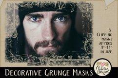 Decorative Grunge Photoshop Clipping Masks & Tutorial Product Image 4