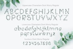 Dont Worry Hand Drawn Font Product Image 4