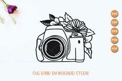 DSLR Camera svg, Wedding Photography, Camera cut file Product Image 2