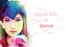 Queen Script Font 1