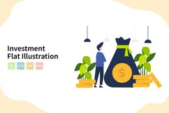 Investment Flat Vector Illustration Product Image 1
