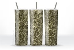 20oz and 30oz TAPERED Skinny Tumbler Sublimation, Gold Product Image 5
