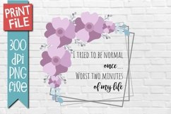 Funny Quote Sublimation Design Product Image 1