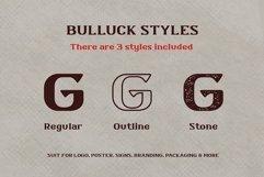 Bulluck - Serif Display Typeface Product Image 2