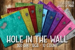 Dirty Wall Digital Papers Product Image 1