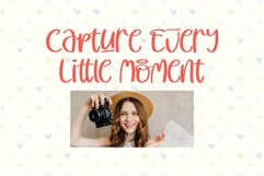 Cutie Delina - Quirky Handwritten Font Product Image 5