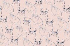 Pug Illustrations - Editable Humorous Funny Vector Pugs Product Image 3