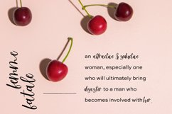 Femme Fatale Modern Calligraphy Font Product Image 4
