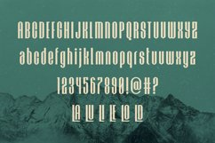 HOCHLAND URBAN-CONDENSED FONT Product Image 2