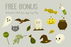 Scary Candy | Cute halloween font with illustration Product Image 4