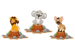 Cute Wild Animals Cartoon Bundle Product Image 3