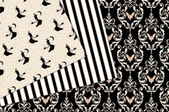 Ivory Halloween Digital Paper Product Image 2