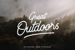 Outdoors Inks Script Product Image 1