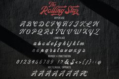 The Rollingstar - Stylish Bold Script Product Image 5