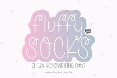 FLUFFY SOCKS Whimsical Handwriting Font Product Image 1
