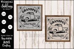 Grandpas Garage version 2 SVG Product Image 1