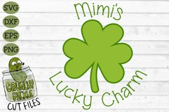 Mimi's Lucky Charm - St Patrick's Day SVG File Product Image 2