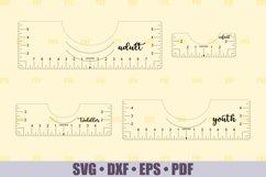 T-Shirt Alignment Tool SVG Glowforge files, Printable PDF Product Image 2