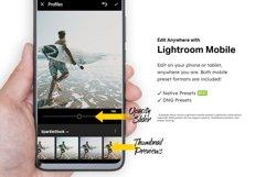 20 Modern Matte Lightroom Presets and LUTs Product Image 3