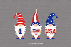 4th of July Gnomes svg, Patriotic Gnomes svg, gnomes svg Product Image 4