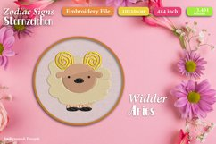Zodiac signs - Embroidery Files - Bundle Product Image 5