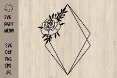 Geometric Frames SVG Bundle, Floral frames SVG Product Image 4