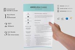 Modern Resume Template and Cover Letter. Fully editable CV Product Image 9