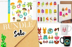 Spring and Summer Illustrations Bundle - Huge Collection Product Image 6