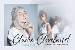 Signatria a Chic Letter Font Product Image 3