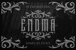 Endma Display Font Product Image 1