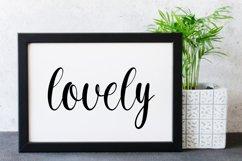 Velvet - a simply script font Product Image 3