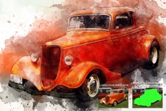 Artistic Watercolor Photoshop action Product Image 6