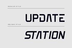 Edge - Futuristic Scifi font Product Image 3