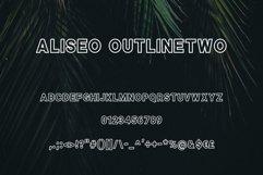 Aliseo Font Family - Sans Serif Product Image 5