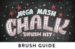 Realistic Photoshop Chalk Brushes! Product Image 6