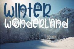 Web Font Christmas Snowflakes Font Product Image 6