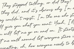 Dementor Monoline Handwritten Font Product Image 6