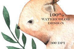Watercolor cute Animals Product Image 4