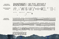 Novodevichi - russian letter font Product Image 5