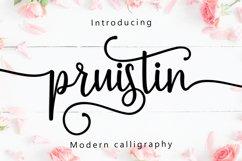 Pruistin Script Product Image 1