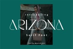 Arizona | Modern Serif Product Image 1