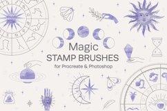 Magic Stamp Brushes for Procreate Product Image 1