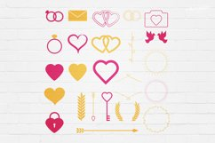 Wedding Stamp Vector Badges Logos Product Image 4