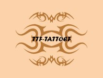TTF Tattoef Product Image 1