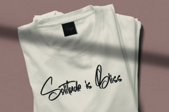 Web Font Horizontal - Signature Script Font Product Image 6