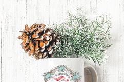 Christmas Holiday Wreath Designs with Gnomes and Mice Product Image 4